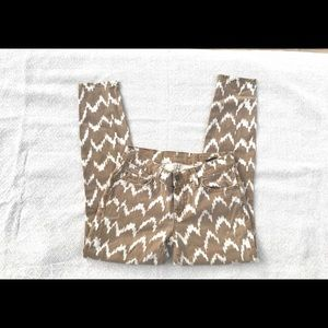 7 for all Mankind ikat print jeans  24